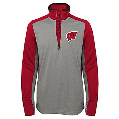 Boys 8-20 Wisconsin Badgers Matrix Pullover
