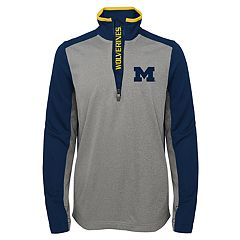 Boys 8-20 Michigan Wolverines Matrix Pullover