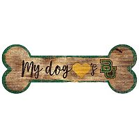 Baylor Bears Dog Bone Wall Sign