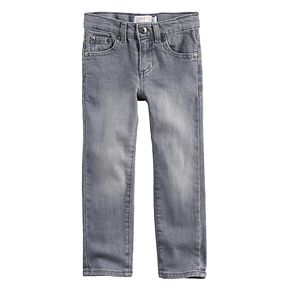 Toddler Boy Jumping Beans® Gray Washed Skinny Jeans