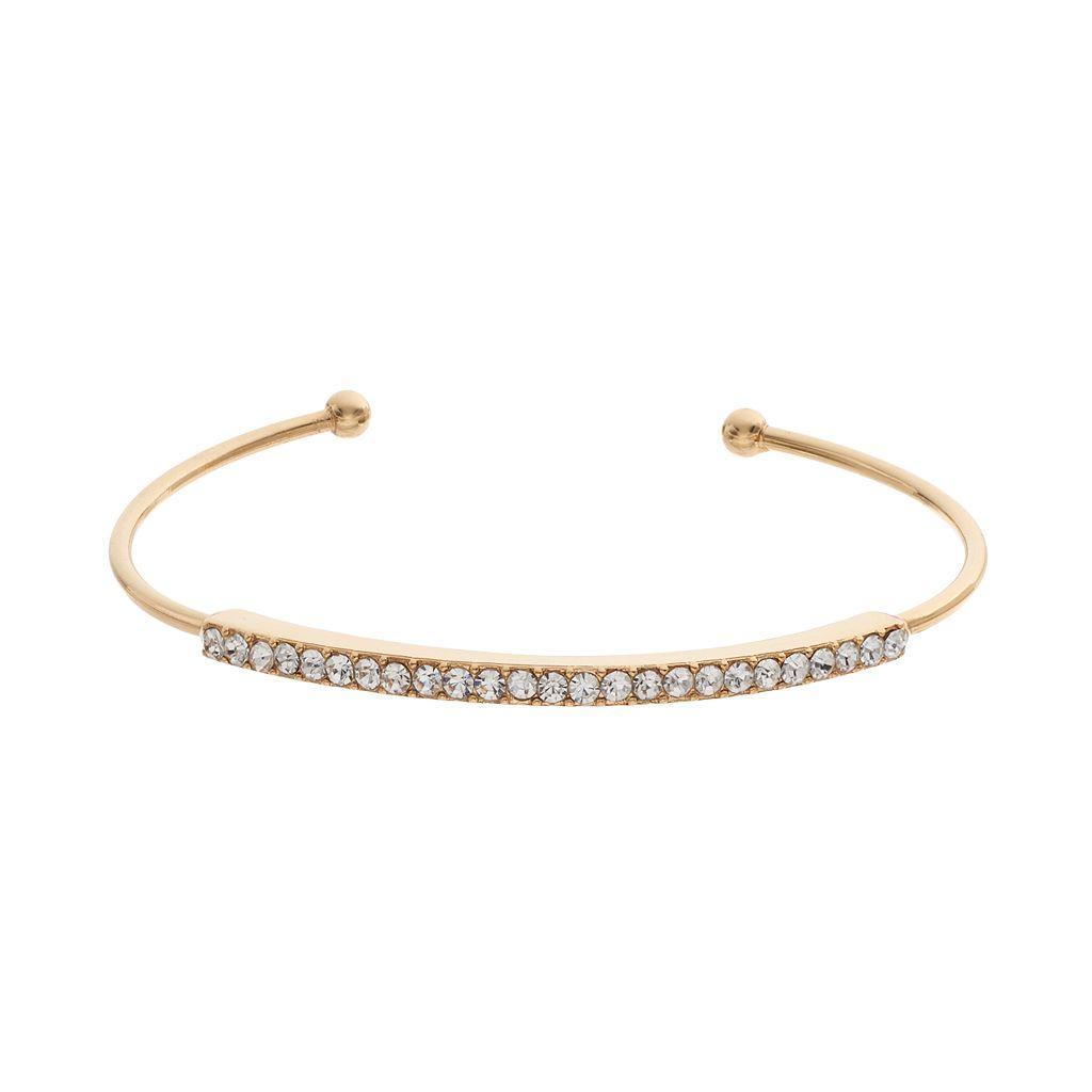 Pave Cuff Bracelet