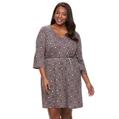 Plus Size Kate and Sam Medallian Dress