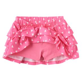 Toddler Girl Jumping Beans® Print Tiered Skort