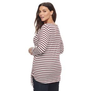 Plus Size Kate and Sam Side Tie Tunic