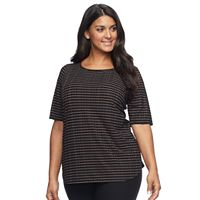Plus Size Apt. 9® Essential Elbow Sleeve Tee
