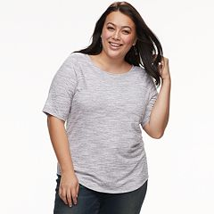 Plus Size Apt. 9® Essential Scoopneck Tee