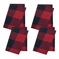 St. Nicholas Square® Buffalo Check Tablecloth Napkin 4-pk.