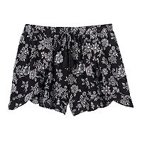 Girls 7-16 Joey B Flowy Ruffle-Front Shorts