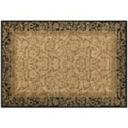 Couristan Everest Fontana Framed Floral Rug