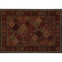 Couristan Everest Antique Baktiari Framed Medallion Rug