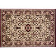 Couristan Everest Ardebil Framed Floral Rug
