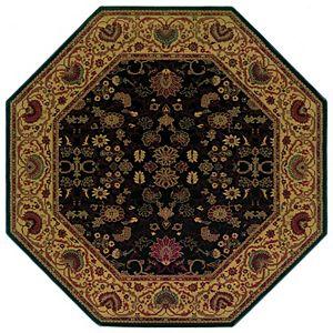 Couristan Everest Tabriz Framed Floral Rug