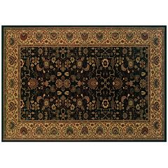 Couristan Everest Tabriz Framed Floral Rug