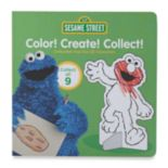 "Kohl's Cares® ""Sesame Street Color Create Collect Pop-Out 3-D Characters"" Book"