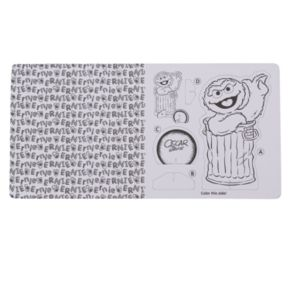"""Kohl's Cares® """"Sesame Street Color Create Collect Pop-Out 3-D Characters"""" Book"""