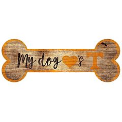 Tennessee Volunteers Dog Bone Wall Sign