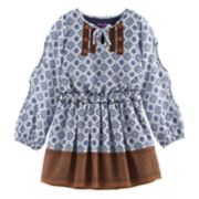 Girls 4-6x Nannette Printed Chiffon Dress