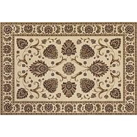 Couristan Everest Leila Framed Floral Rug