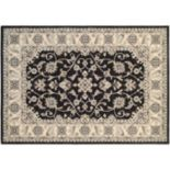 Couristan Everest Rosetta Framed Floral Rug