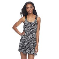 Women's Apt. 9® Macrame Tank Dress Cover-Up