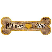 VCU Rams Dog Bone Wall Sign