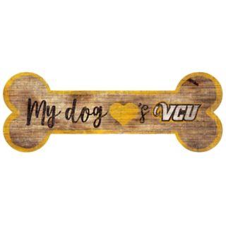 VCU Rams Dog Bone Wall Sign