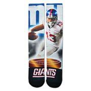 Adult For Bare Feet New York Giants Odell Beckham Jr. City Star Crew Socks