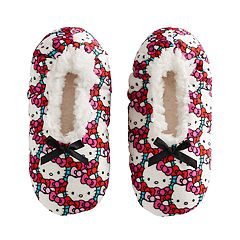 Girls 4-16 Hello Kitty® Fuzzy Babba Slippers