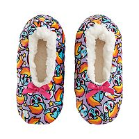 Girls 4-16 My Little Pony Rainbow Dash Fuzzy Babba Slippers