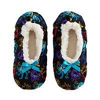 Disney's Descendants Girls 4-16 Fuzzy Babba Slippers
