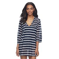 Women's Apt. 9® Striped Burnout Tunic Cover-Up