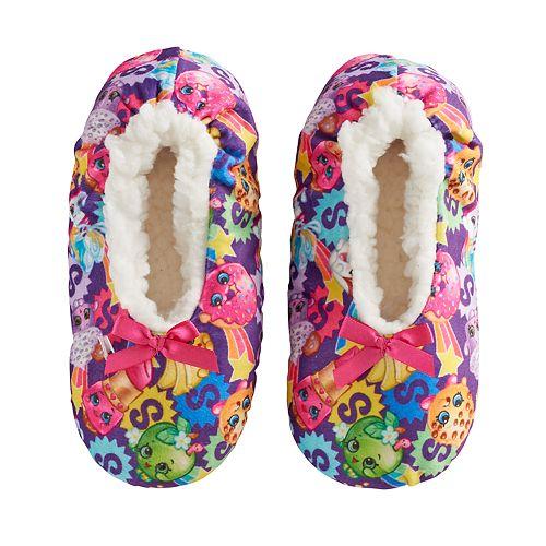 8f003dca348 Girls 4-16 Shopkins Fuzzy Babba Slippers