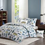 INK + IVY Kids Road Trip Coverlet Set