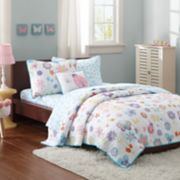 Mi Zone Kids Butterfly Bonanza Coverlet Set