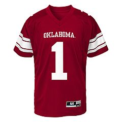 Boys 8-20 Oklahoma Sooners Team Replica Jersey