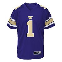 Boys 8-20 Washington Huskies Team Replica Jersey