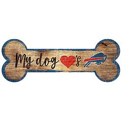 Buffalo Bills Dog Bone Wall Sign