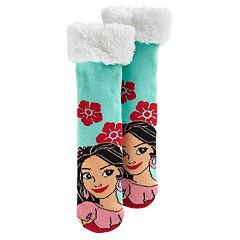 Disney's Elena of Avalor Girls 4-16 Thick Cozy Warmer Socks