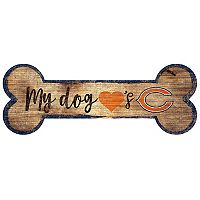 Chicago Bears Dog Bone Wall Sign