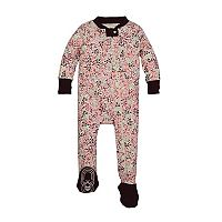 Baby Girl Burt's Bees Baby Organic Print Sleep & Play