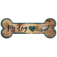 Philadelphia Eagles Dog Bone Wall Sign