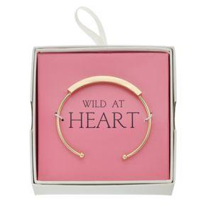 """""""Wild At Heart"""" Cuff Bracelet"""