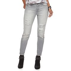 Women's Juicy Couture Flaunt It Sequin Ripped Skinny Jeans
