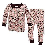 Toddler Girl Burt's Bees Baby Organic Print Pajama Set