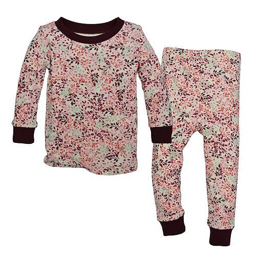 bc48bb71fdd6 Toddler Girl Burt s Bees Baby Organic Print Pajama Set