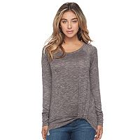 Women's Juicy Couture Twist Hem Tee