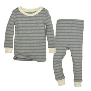 Toddler Burt's Bees Baby Organic Striped Top & Pants Set