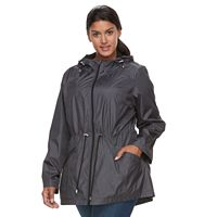 Plus Size d.e.t.a.i.l.s Packable Parka