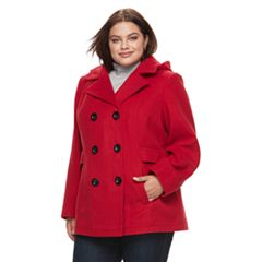 Plus Size Peacoats | Kohl's