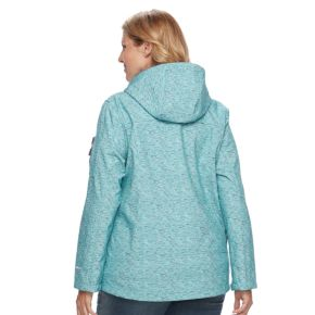 Plus Size Free Country Hooded Rain Jacket